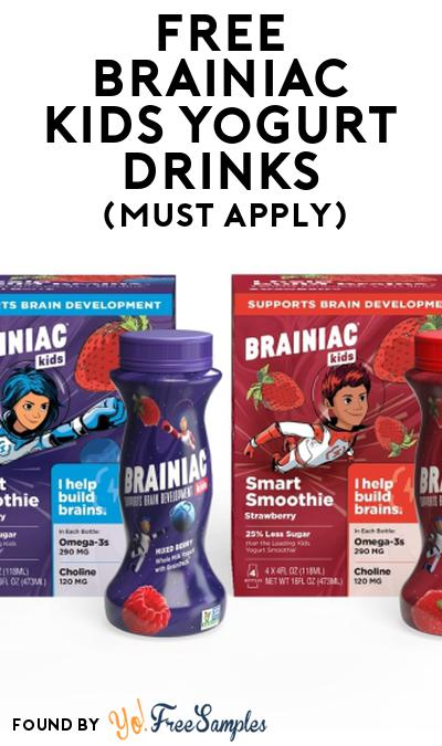 FREE Brainiac Kids Yogurt Drinks At Social Nature (Must Apply)