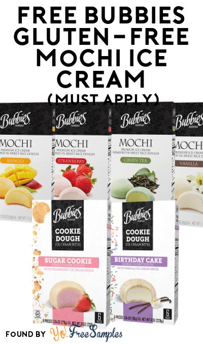 FREE Bubbies Gluten-Free Mochi Ice Cream At Social Nature (Must Apply)