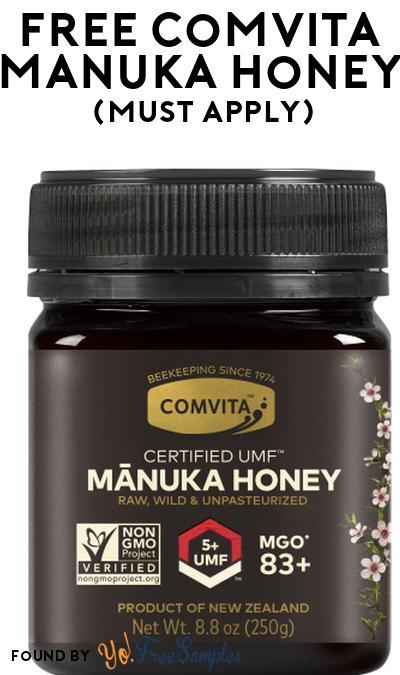 FREE Comvita Manuka Honey At Social Nature (Must Apply)