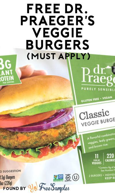 FREE Dr. Praeger's Veggie Burgers At Social Nature (Must Apply)