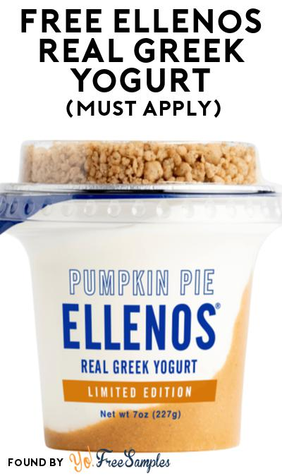 FREE Ellenos Real Greek Yogurt At Social Nature (Must Apply)