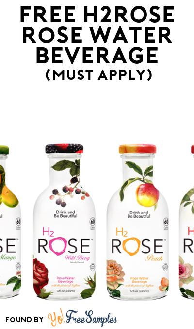 FREE H2rOse Rose Water Beverage At Social Nature (Must Apply)