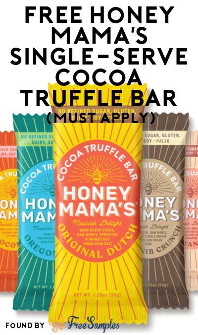 FREE Honey Mama's Single-Serve Cocoa Truffle Bar At Social Nature (Must Apply)