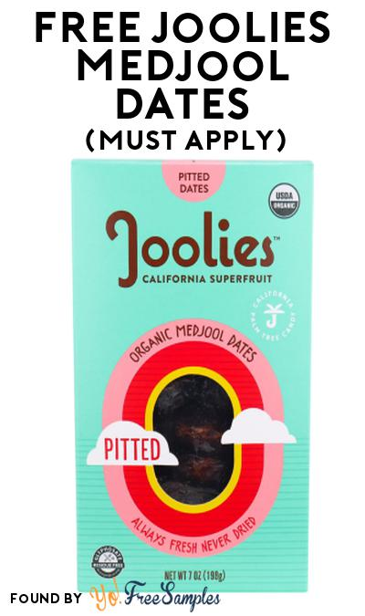 FREE Joolies Medjool Dates At Social Nature (Must Apply)