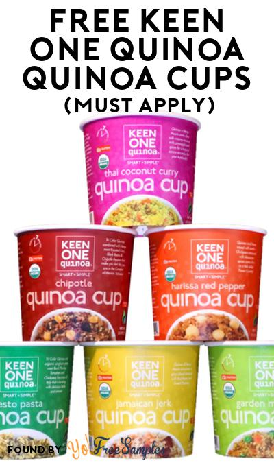 Nearly FREE Keen One Quinoa Cups At Social Nature (Must Apply & Possible $9 Shipping Charges)