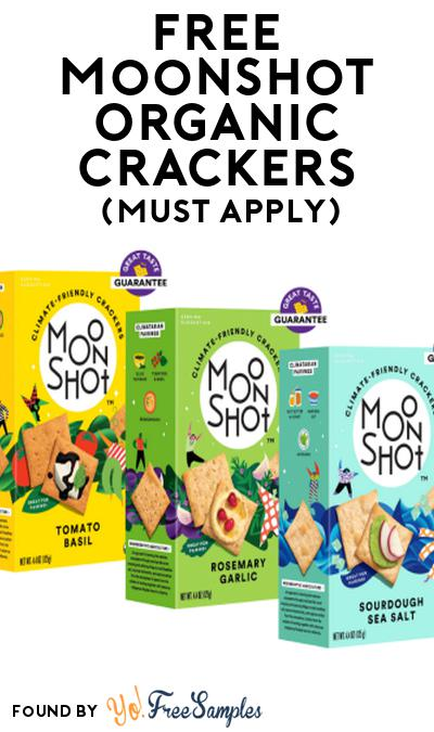 FREE Moonshot Organic Crackers At Social Nature (Must Apply)