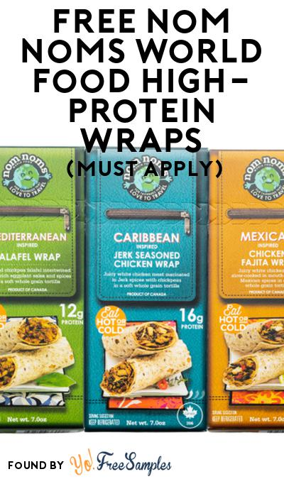 FREE Nom Noms World Food High-Protein Wraps At Social Nature (Must Apply)