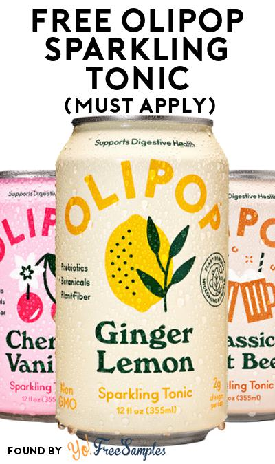 FREE OLIPOP Sparkling Tonic At Social Nature (Must Apply)