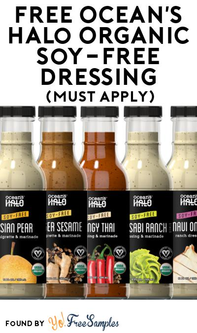 FREE Ocean's Halo Organic Soy-Free Dressing At Social Nature (Must Apply)