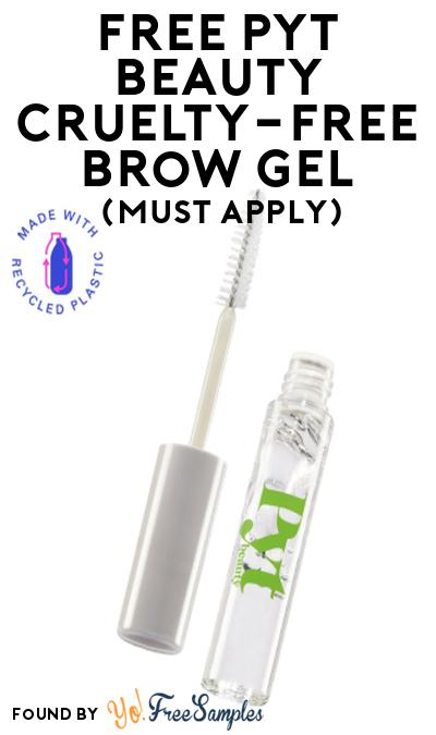 FREE PYT Beauty Cruelty-Free Brow Gel At Social Nature (Must Apply)