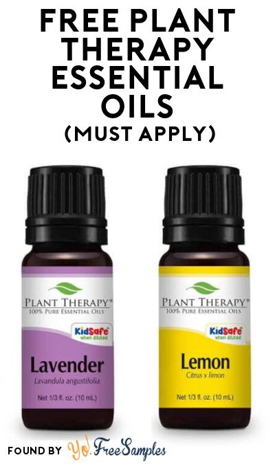 FREE Plant Therapy Essential Oils At Social Nature (Must Apply)