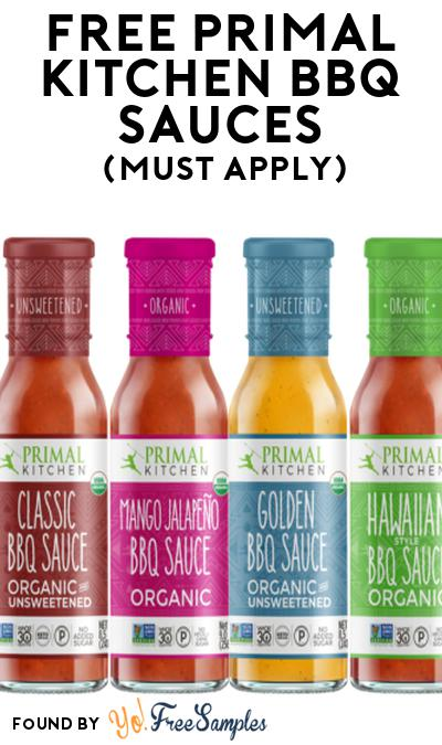 FREE Primal Kitchen BBQ Sauces At Social Nature (Must Apply)