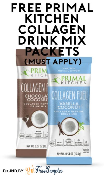 FREE Primal Kitchen Collagen Drink Mix Packets At Social Nature (Must Apply)