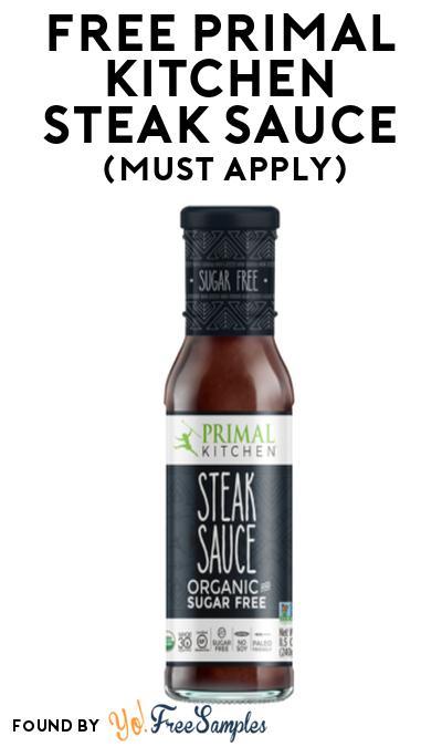 FREE Primal Kitchen Steak Sauce At Social Nature (Must Apply)