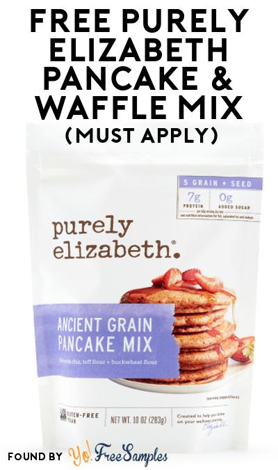 FREE Purely Elizabeth Pancake & Waffle Mix At Social Nature (Must Apply)