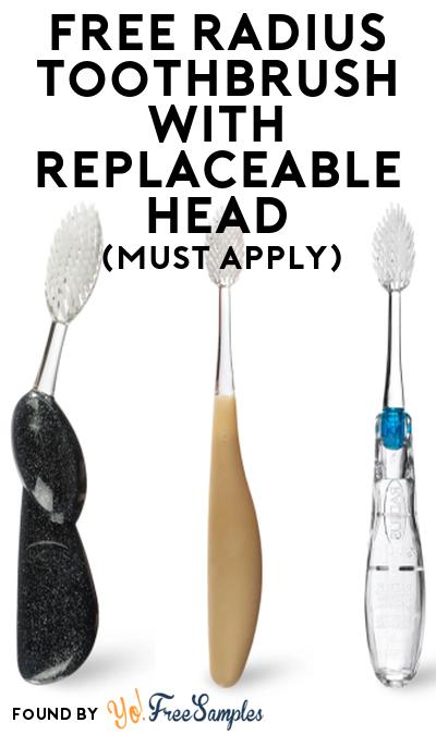 FREE RADIUS Toothbrush with Replaceable Head At Social Nature (Must Apply)