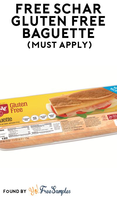 FREE Schar Gluten Free Baguette At Social Nature (Must Apply)