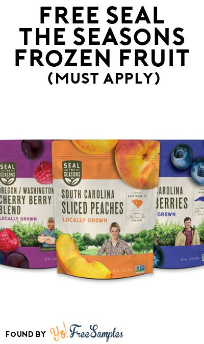 FREE Seal the Seasons Frozen Fruit At Social Nature (Must Apply)
