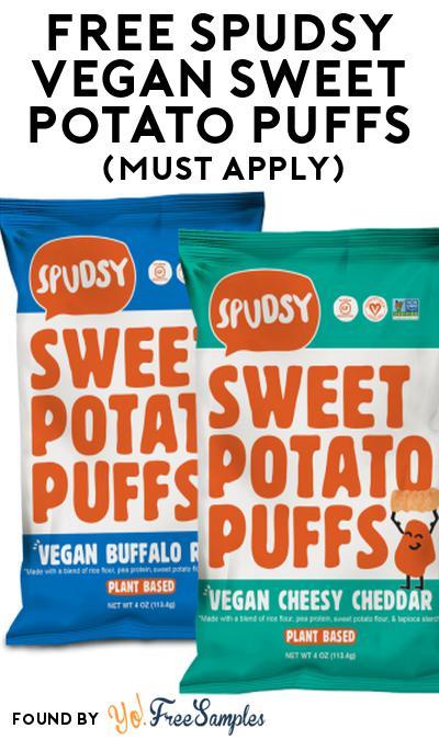 FREE Spudsy Vegan Sweet Potato Puffs At Social Nature (Must Apply)