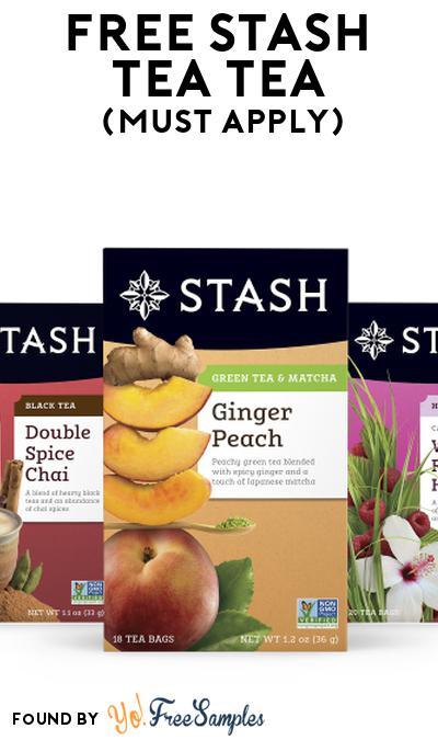 FREE Stash Tea Tea At Social Nature (Must Apply)