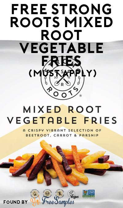 FREE Strong Roots Mixed Root Vegetable Fries At Social Nature (Must Apply)