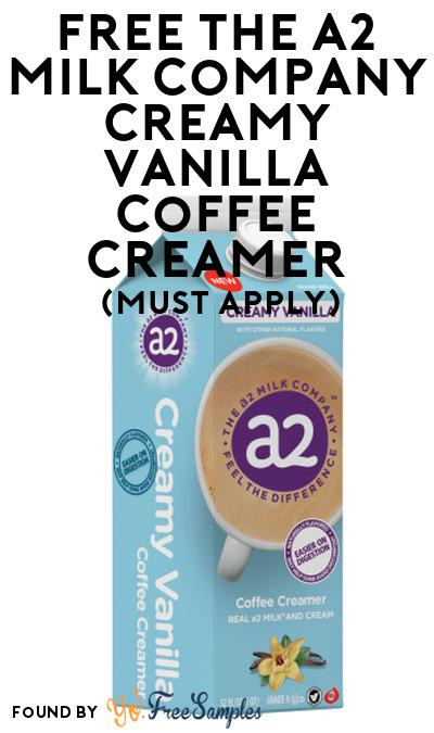 FREE The A2 Milk Company Creamy Vanilla Coffee Creamer At Social Nature (Must Apply)