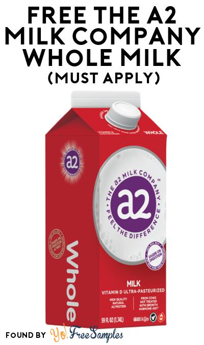 FREE The A2 Milk Company Whole Milk At Social Nature (Must Apply)