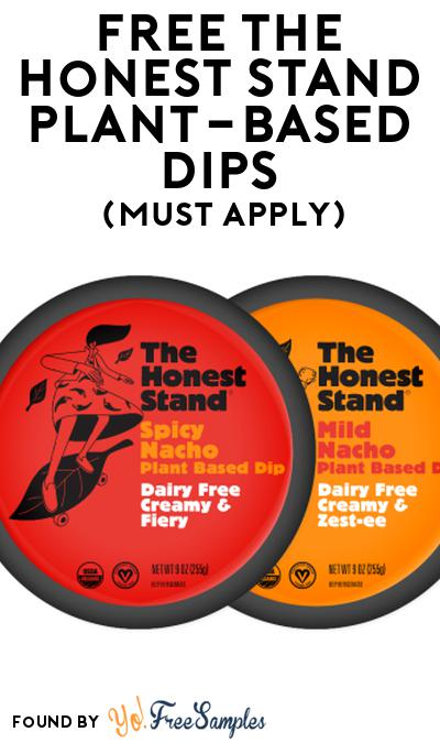 FREE The Honest Stand Plant-Based Dips At Social Nature (Must Apply)