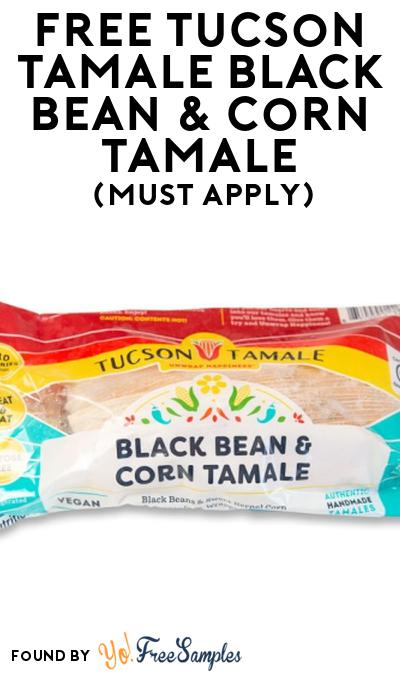 FREE Tucson Tamale Black Bean & Corn Tamale At Social Nature (Must Apply)