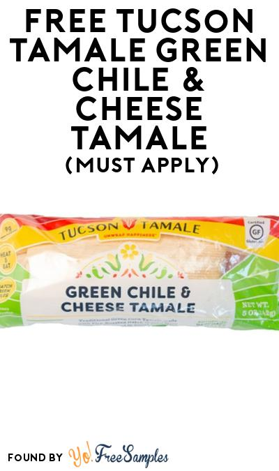 FREE Tucson Tamale Green Chile & Cheese Tamale At Social Nature (Must Apply)