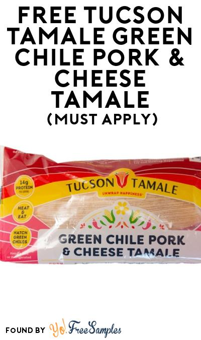 FREE Tucson Tamale Green Chile Pork & Cheese Tamale At Social Nature (Must Apply)