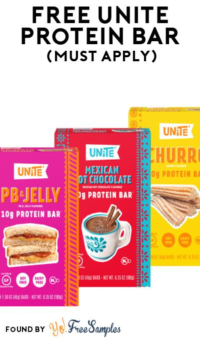 FREE UNiTE Protein Bar At Social Nature (Must Apply)
