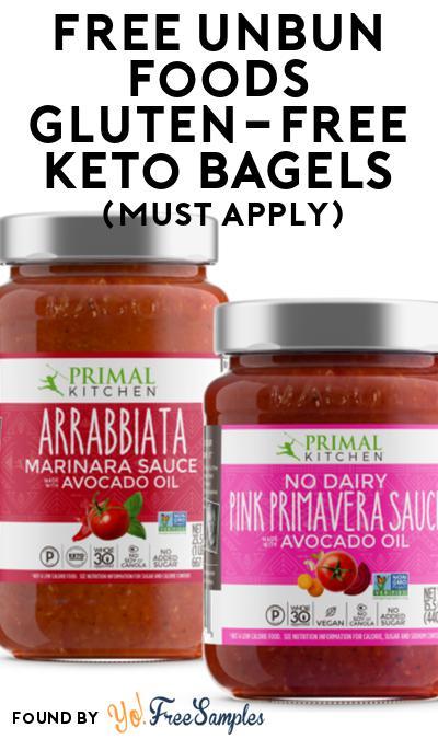 FREE Unbun Foods Gluten-Free Keto Bagels At Social Nature (Must Apply)