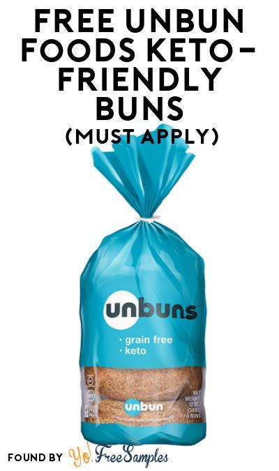 FREE Unbun Foods Keto-Friendly Buns At Social Nature (Must Apply)
