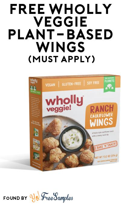 FREE Wholly Veggie Plant-Based Wings At Social Nature (Must Apply)