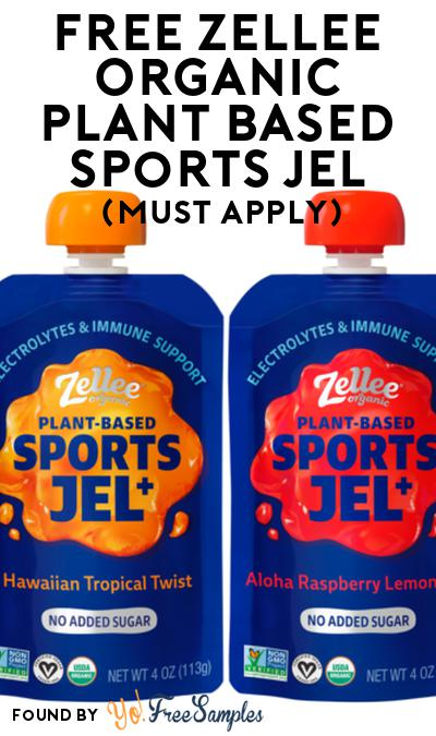 FREE Zellee Organic Plant Based Sports Jel At Social Nature (Must Apply)
