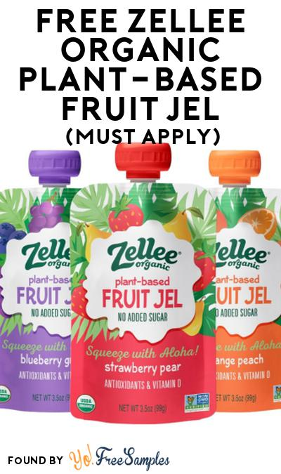 FREE Zellee Organic Plant-Based Fruit Jel At Social Nature (Must Apply)