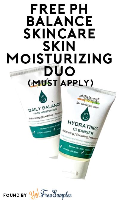 FREE pH Balance Skincare Skin Moisturizing Duo At Social Nature (Must Apply)