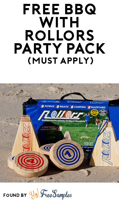 FREE BBQ with Rollors Party Pack (Must Apply To Host Tryazon Party)