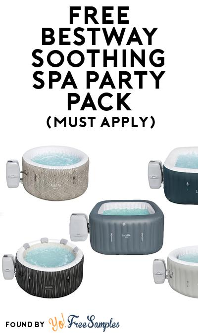 FREE Bestway  Soothing Spa Party Pack (Must Apply To Host Tryazon Party)