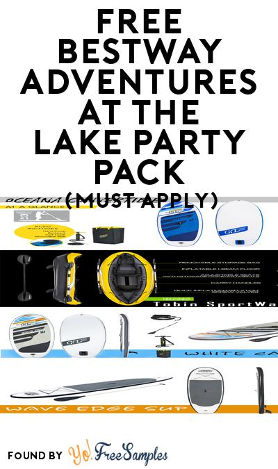 FREE Bestway Adventures at the Lake Party Pack (Must Apply To Host Tryazon Party)