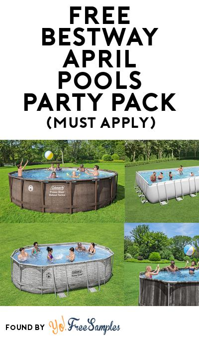 FREE Bestway April Pools Party Pack (Must Apply To Host Tryazon Party)