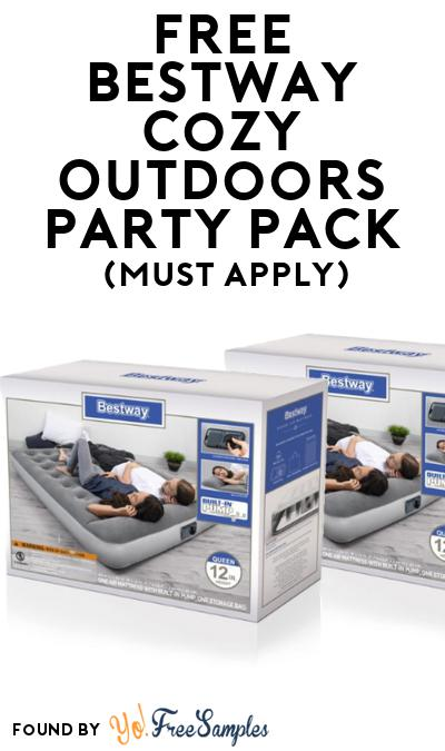 FREE Bestway Cozy Outdoors Party Pack (Must Apply To Host Tryazon Party)