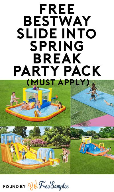 FREE Bestway Slide into Spring Break Party Pack (Must Apply To Host Tryazon Party)