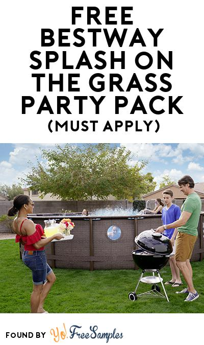 FREE Bestway Splash on the Grass Party Pack (Must Apply To Host Tryazon Party)