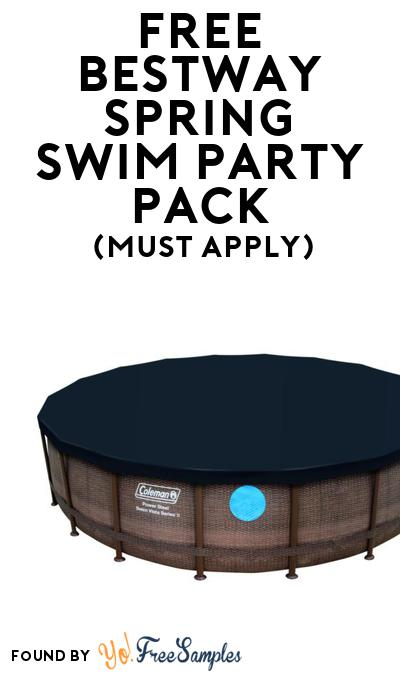 FREE Bestway Spring Swim Party Pack (Must Apply To Host Tryazon Party)