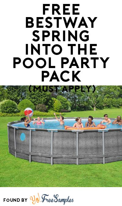 FREE Bestway Spring into the Pool Party Pack (Must Apply To Host Tryazon Party)