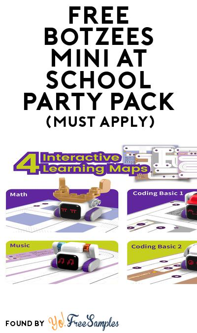 FREE Botzees Mini at School Party Pack (Must Apply To Host Tryazon Party)