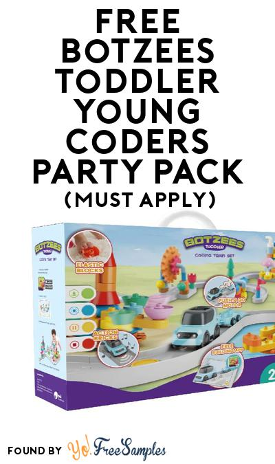 FREE Botzees Toddler Young Coders Party Pack (Must Apply To Host Tryazon Party)