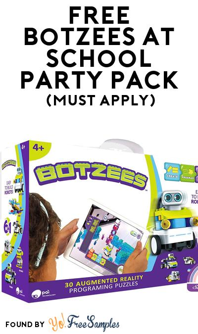 FREE Botzees at School Party Pack (Must Apply To Host Tryazon Party)